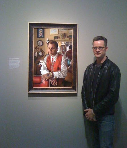 """Mark Cummings and """"Donnie Hawley of Hawleywood's Barbershop"""""""